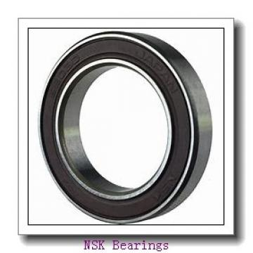 160 mm x 240 mm x 38 mm  NSK 7032 A angular contact ball bearings