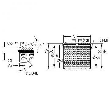 AST AST20 16060 plain bearings