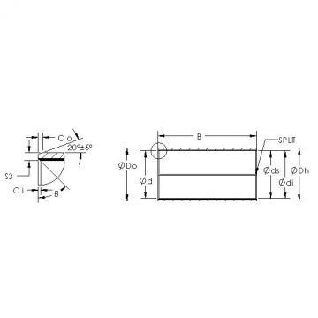 AST AST850BM 1520 plain bearings