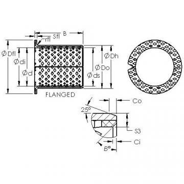 AST ASTB90 F15080 plain bearings