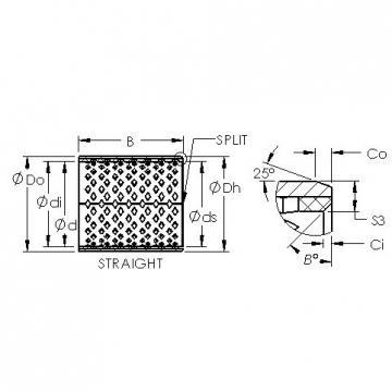 AST AST090 3225 plain bearings