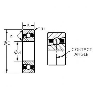AST H7019AC angular contact ball bearings