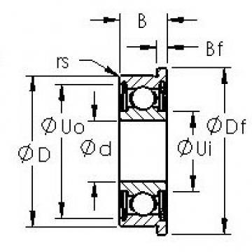 AST F602XHZZ deep groove ball bearings