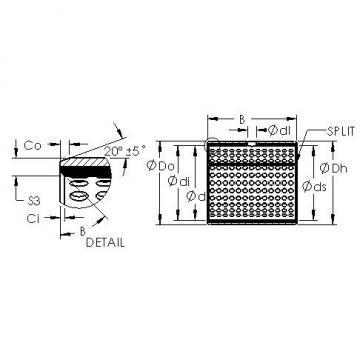 AST AST800 13580 plain bearings