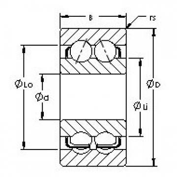 AST 5312 angular contact ball bearings