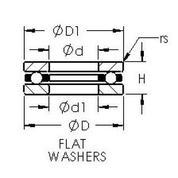 AST F3-8 thrust ball bearings