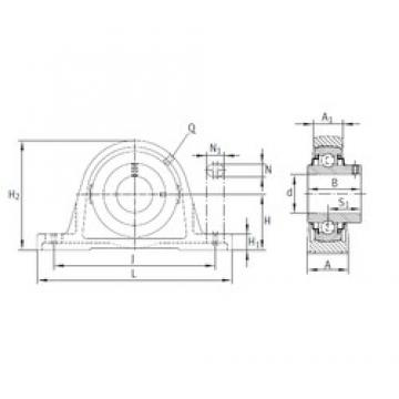 INA RASEY30-N bearing units