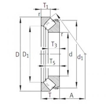 INA 29326-E1 thrust roller bearings