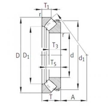 INA 29418-E1 thrust roller bearings