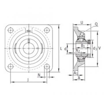 INA RCJ50-FA164 bearing units