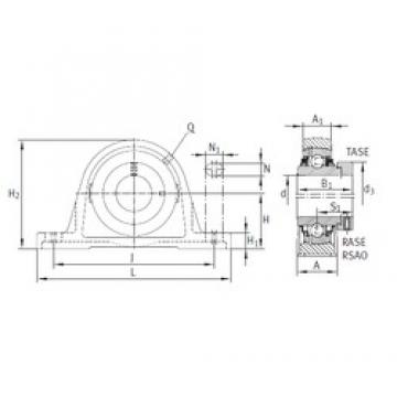 INA TASE20-N bearing units