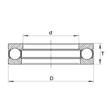 INA XW5 thrust ball bearings