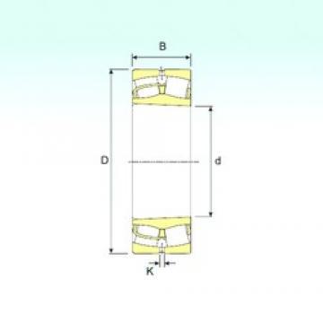 120 mm x 215 mm x 58 mm  ISB 22224 K spherical roller bearings