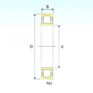 45 mm x 120 mm x 29 mm  ISB NU 409 cylindrical roller bearings