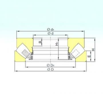 100 mm x 170 mm x 34 mm  ISB 29320 M thrust roller bearings