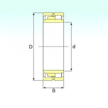 380 mm x 560 mm x 180 mm  ISB NNU 4076 M/W33 cylindrical roller bearings