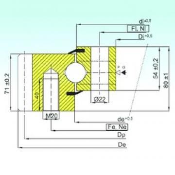 ISB EB1.25.1455.200-1STPN thrust ball bearings