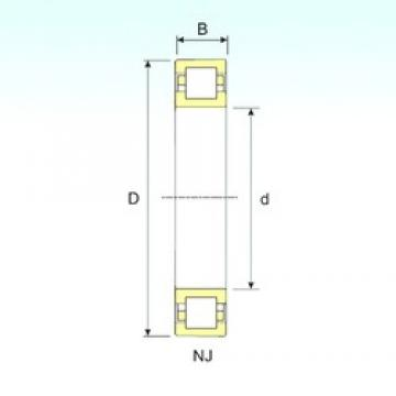 170 mm x 310 mm x 52 mm  ISB NUP 234 cylindrical roller bearings