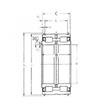 65 mm x 100 mm x 46 mm  FBJ SL04-5013NR cylindrical roller bearings