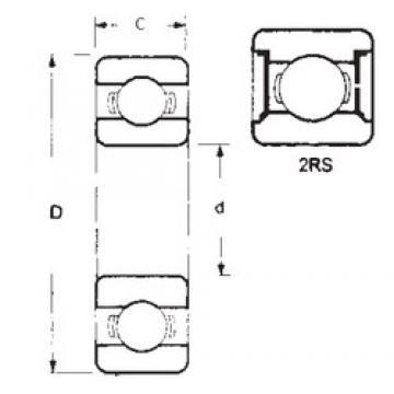 30 mm x 37 mm x 4 mm  FBJ 6706-2RS deep groove ball bearings