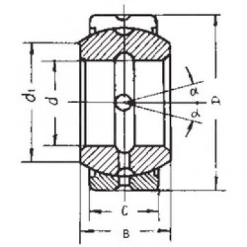 63,5 mm x 100,013 mm x 55,55 mm  FBJ GEZ63ES-2RS plain bearings
