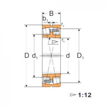 130 mm x 200 mm x 52 mm  FBJ 23026K spherical roller bearings