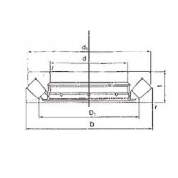FBJ 29320M thrust roller bearings