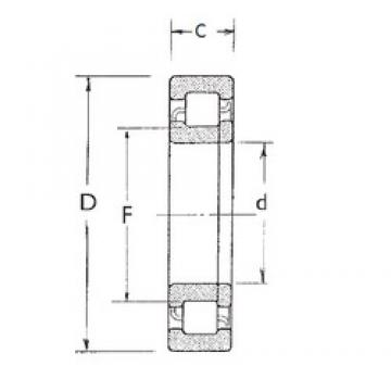 80 mm x 140 mm x 33 mm  FBJ NUP2216 cylindrical roller bearings