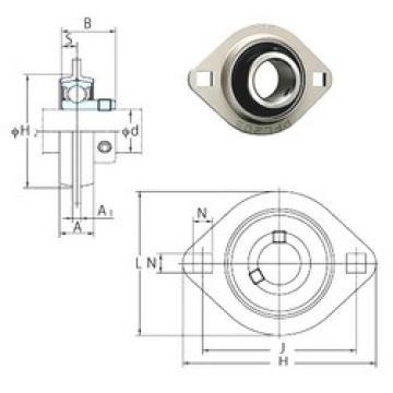 FYH SBPFL206 bearing units