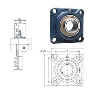 FYH UCF211-34 bearing units