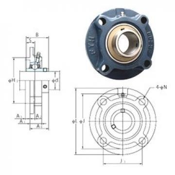 FYH UCFC205 bearing units