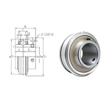 22,225 mm x 52 mm x 34,1 mm  FYH ER205-14 deep groove ball bearings