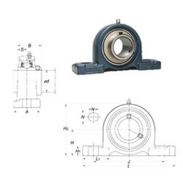 FYH UCP318-56 bearing units