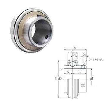 57,15 mm x 110 mm x 65,1 mm  FYH UCX11-36 deep groove ball bearings