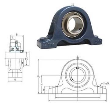 FYH UCIP212 bearing units