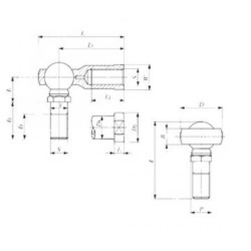 IKO LHS 6 plain bearings
