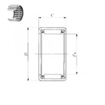 IKO BA 1214 Z needle roller bearings