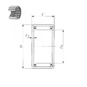 IKO TAM 243216 needle roller bearings