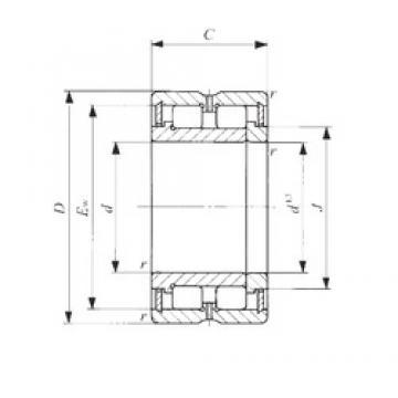 95 mm x 130 mm x 35 mm  IKO NAG 4919 cylindrical roller bearings