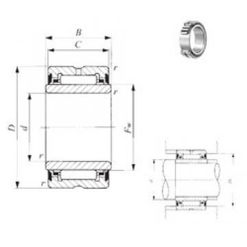 50 mm x 72 mm x 23 mm  IKO NA 4910UU needle roller bearings