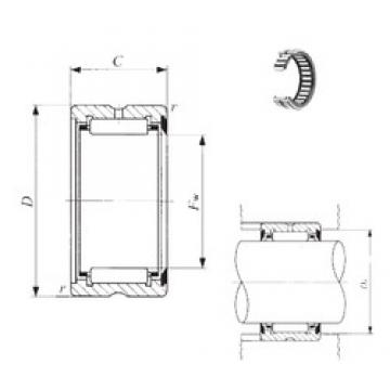 IKO RNA 4901U needle roller bearings