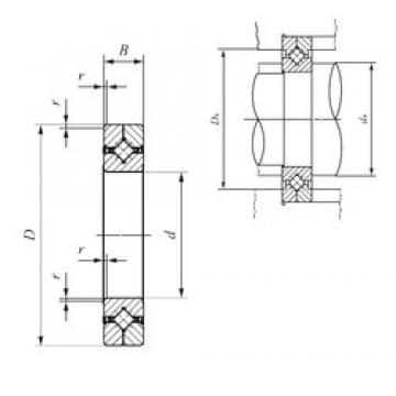 130 mm x 190 mm x 25 mm  IKO CRBC 13025 UU thrust roller bearings