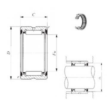 IKO RNA 49/38UU needle roller bearings