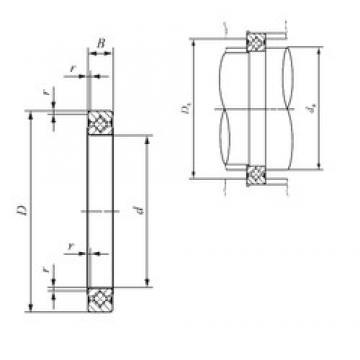 120 mm x 136 mm x 8 mm  IKO CRBS 1208 V thrust roller bearings