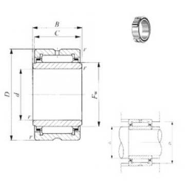 42 mm x 62 mm x 30,5 mm  IKO TRI 426230 needle roller bearings