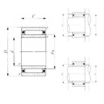70 mm x 100 mm x 30 mm  IKO NAF 7010030 needle roller bearings