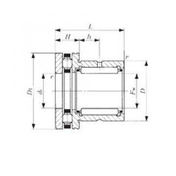 IKO NBX 1725 complex bearings
