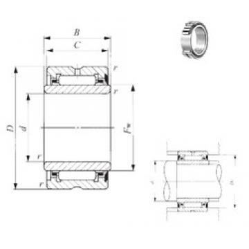 17 mm x 30 mm x 24 mm  IKO NA 6904U needle roller bearings