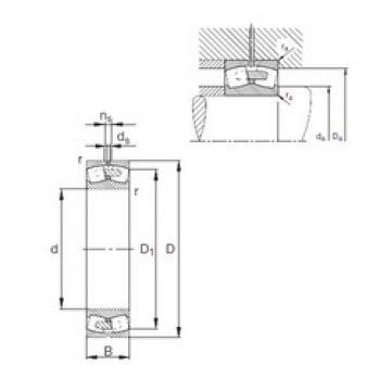 460 mm x 760 mm x 240 mm  FAG 23192-E1A-MB1 spherical roller bearings