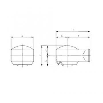 IKO PRC 10 plain bearings